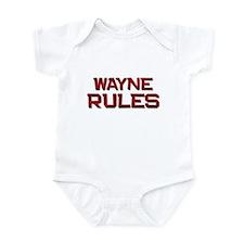 wayne rules Onesie