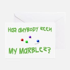 Marbles Greeting Cards (Pk of 20)