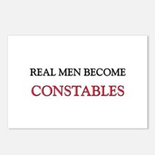 Real Men Become Constables Postcards (Package of 8