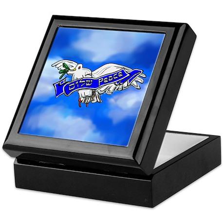 Peace Bird Keepsake Box