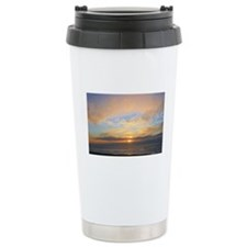 Sunset on the Pacific Ocean Travel Mug