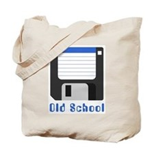 Old School Diskette Tote Bag
