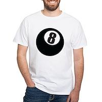 8 Ball White T-Shirt