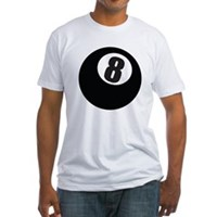 8 Ball Fitted T-Shirt
