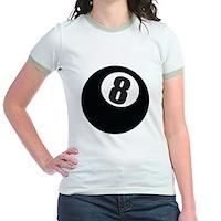 8 Ball Jr. Ringer T-Shirt