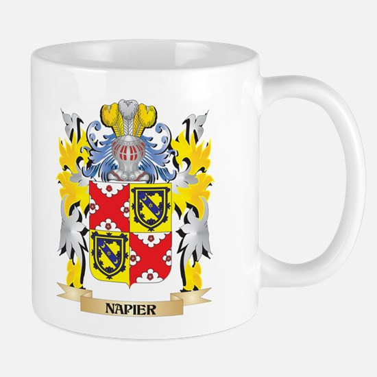 Napier Coat of Arms - Family Crest Mugs