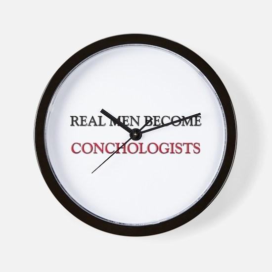 Real Men Become Conductors Wall Clock