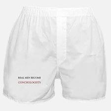 Real Men Become Conductors Boxer Shorts