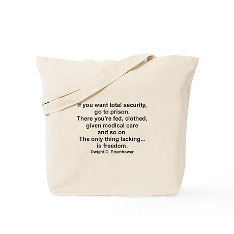 """""""Eisenhower - Socialism"""" Tote Bag"""
