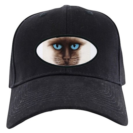 A Siamese Face Black Cap