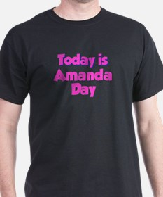 Today Is Amanda Day T-Shirt