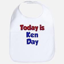 Today Is Ken Day Bib