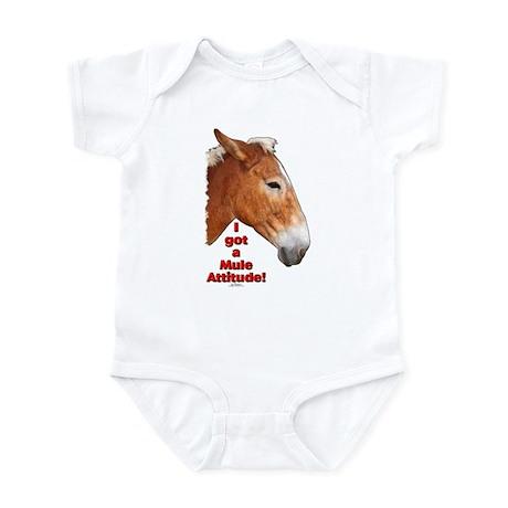 I got a Mule Attitude! Infant Bodysuit