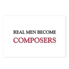Real Men Become Composers Postcards (Package of 8)