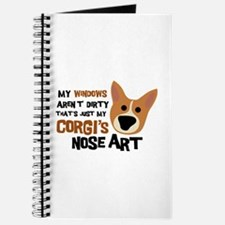 Corgi Nose Art Journal