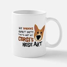 Corgi Nose Art Mug