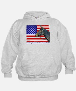 Nothing beats the American Mule Hoodie