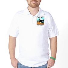 Western Reining Mule T-Shirt