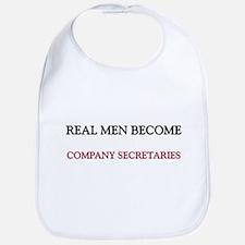 Real Men Become Company Secretaries Bib