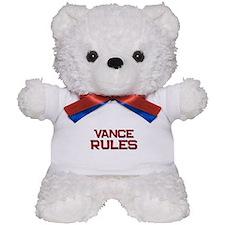 vance rules Teddy Bear