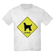 Afghan Hound Crossing T-Shirt