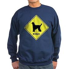 Afghan Hound Crossing Sweatshirt