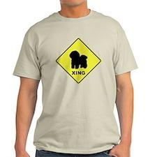Bichon Frise Crossing T-Shirt