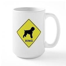 Black Terrier Crossing Mug
