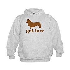 Get Low Corgi Hoodie