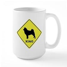 Finnish Spitz Crossing Mug
