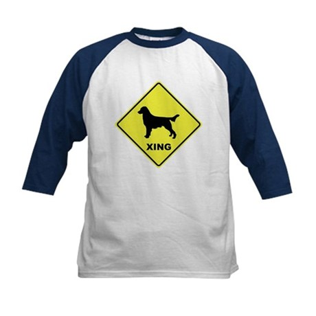 Flattie Crossing Kids Baseball Jersey