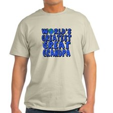 World's Greatest Great Grandpa T-Shirt