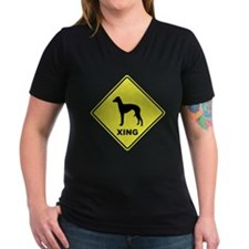 Italian Greyhound Crossing Shirt