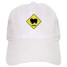 Japanese Chin Crossing Baseball Cap
