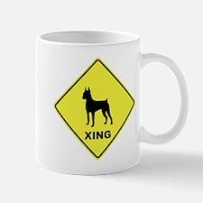 Min Pin Crossing Mug