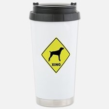 Mountain Cur Crossing Stainless Steel Travel Mug