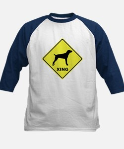Mountain Cur Crossing Kids Baseball Jersey