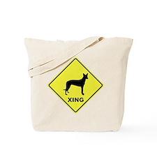 Pharaoh Hound Crossing Tote Bag