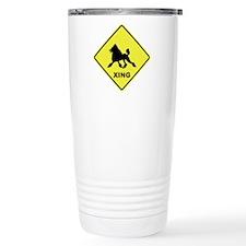 Poodle Crossing Travel Mug