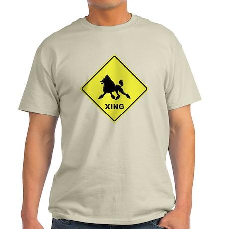 Poodle Crossing Light T-Shirt