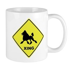 Poodle Crossing Mug