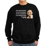 Gandhi 19 Sweatshirt (dark)