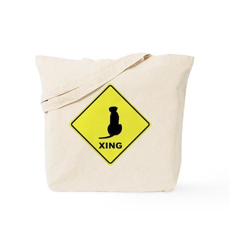 Ridgeback Crossing Tote Bag