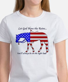 Let God have the Reins Tee