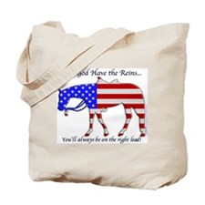 Let God have the Reins Tote Bag