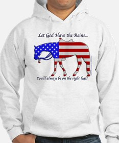 Let God have the Reins Hoodie Sweatshirt