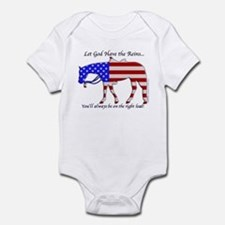 Let God have the Reins Infant Bodysuit