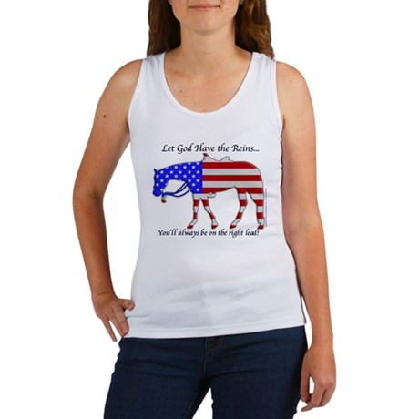 Let God have the Reins Women's Tank Top