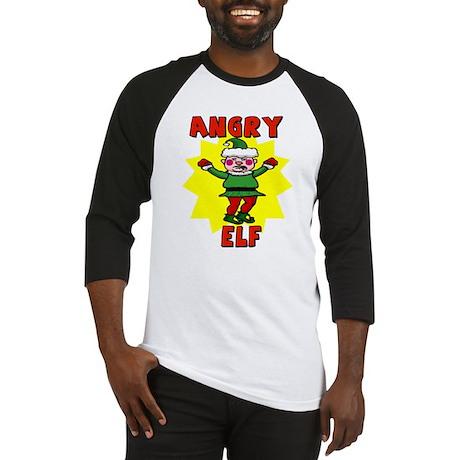 Angry Elf Baseball Jersey