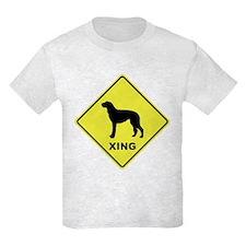 Scottish Deerhound Crossing T-Shirt